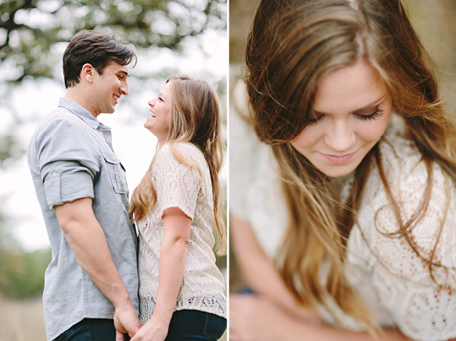 Kim & Nick's Engagements | Julie Wilhite Photography | Austin Engagements | Outdoor Engagements | via juliewilhite.com