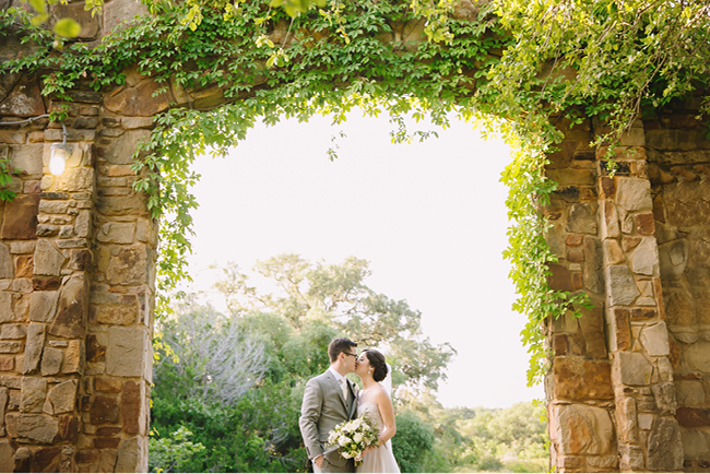 Kara & Justin's Austin Wildflower Center Wedding