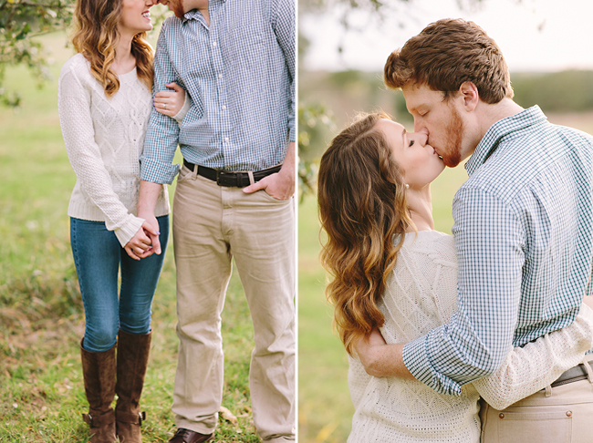 Skylar & Jeff's Engagements | Julie Wilhite Photography | Austin Engagements | Outdoor Engagements | via juliewilhite.com