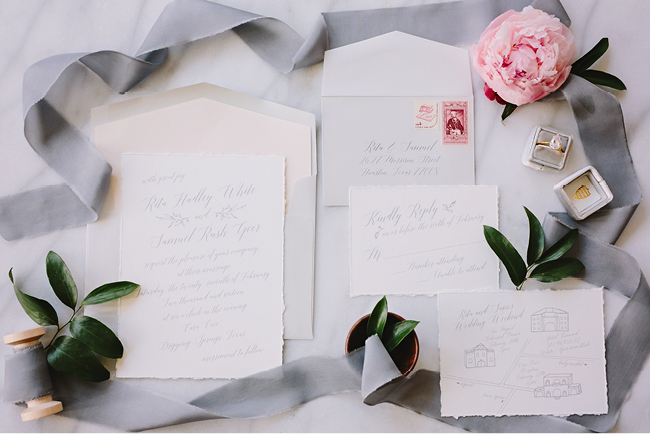 Organic Rose Gold Wedding Inspiration