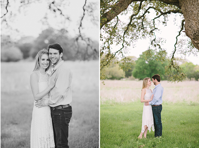 Cile & Anton's Engagements | Julie Wilhite Photography | Austin Engagements | Outdoor Engagements | via juliewilhite.com