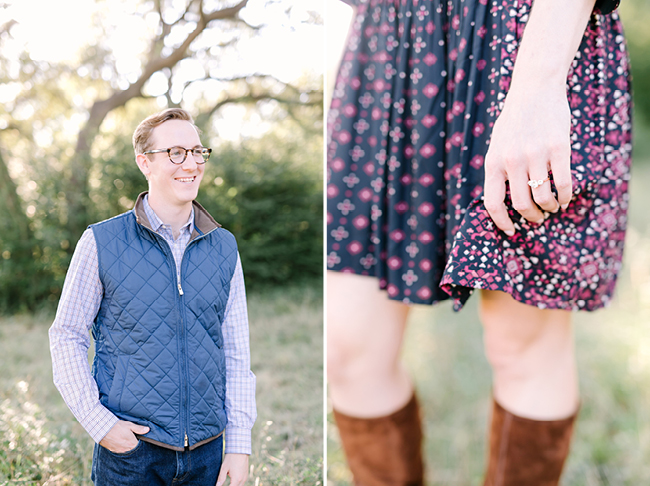 Lindsey & Ben's Engagement's | Julie Wilhite Photography | Austin Engagement | Outdoor Engagement | via juliewilhite.com