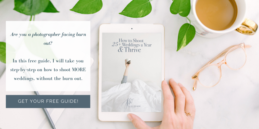 How to Shoot 25+ Weddings a Year & Thrive [FREE GUIDE]