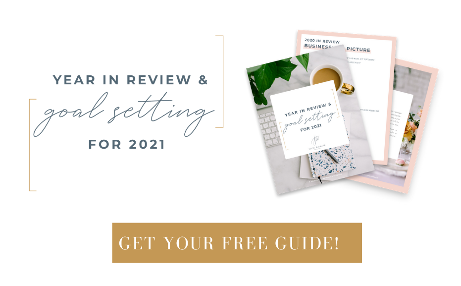 Year In Review And Goal Setting For 2021 - Julie Wilhite Education